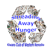 event button shred away hunger